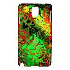 Awesome Fractal 35i Samsung Galaxy Note 3 N9005 Hardshell Case