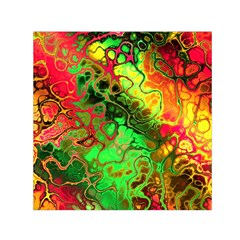 Awesome Fractal 35i Small Satin Scarf (square)