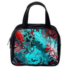Awesome Fractal 35g Classic Handbags (one Side)