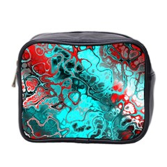 Awesome Fractal 35g Mini Toiletries Bag 2 Side