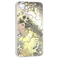 Awesome Fractal 35h Apple Iphone 4/4s Seamless Case (white)
