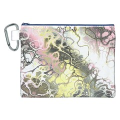 Awesome Fractal 35h Canvas Cosmetic Bag (xxl)