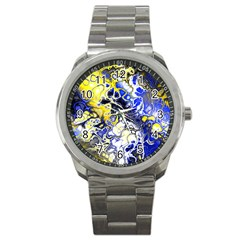 Awesome Fractal 35a Sport Metal Watch