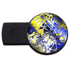 Awesome Fractal 35a Usb Flash Drive Round (4 Gb)