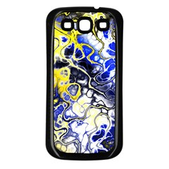 Awesome Fractal 35a Samsung Galaxy S3 Back Case (black)