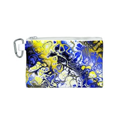 Awesome Fractal 35a Canvas Cosmetic Bag (s)