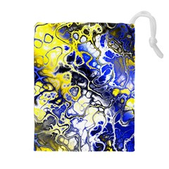 Awesome Fractal 35a Drawstring Pouches (extra Large)