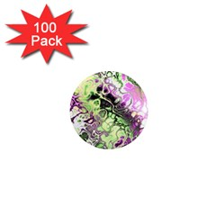 Awesome Fractal 35d 1  Mini Magnets (100 Pack)