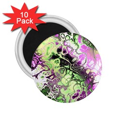 Awesome Fractal 35d 2 25  Magnets (10 Pack)