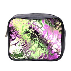 Awesome Fractal 35d Mini Toiletries Bag 2 Side