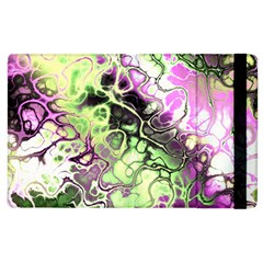 Awesome Fractal 35d Apple Ipad 3/4 Flip Case