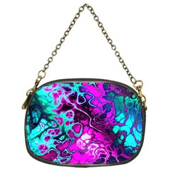 Awesome Fractal 35b Chain Purses (two Sides)