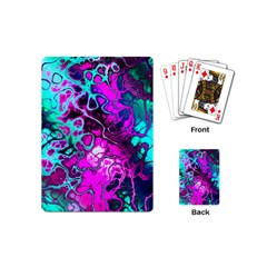 Awesome Fractal 35b Playing Cards (mini)