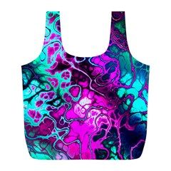 Awesome Fractal 35b Full Print Recycle Bags (l)