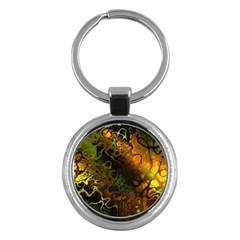 Awesome Fractal 35e Key Chains (round)