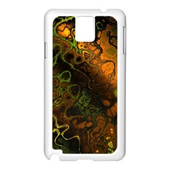 Awesome Fractal 35e Samsung Galaxy Note 3 N9005 Case (white)