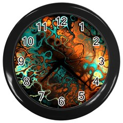 Awesome Fractal 35f Wall Clocks (black)