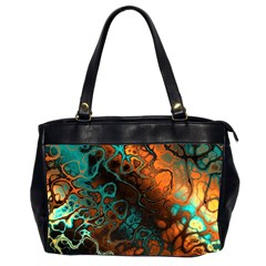 Awesome Fractal 35f Office Handbags (2 Sides)