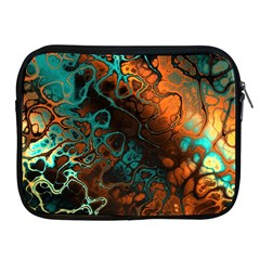 Awesome Fractal 35f Apple Ipad 2/3/4 Zipper Cases