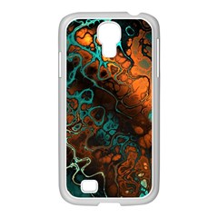 Awesome Fractal 35f Samsung Galaxy S4 I9500/ I9505 Case (white)