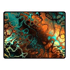 Awesome Fractal 35f Double Sided Fleece Blanket (small)