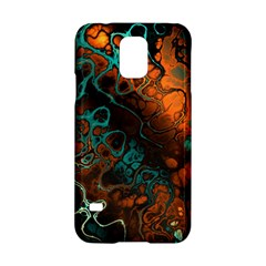 Awesome Fractal 35f Samsung Galaxy S5 Hardshell Case