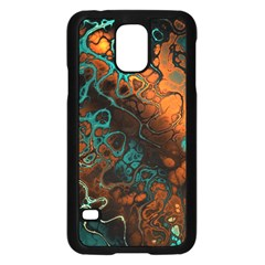 Awesome Fractal 35f Samsung Galaxy S5 Case (black)