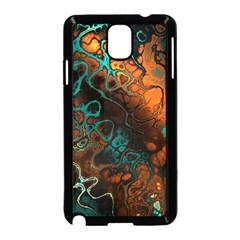 Awesome Fractal 35f Samsung Galaxy Note 3 Neo Hardshell Case (black)