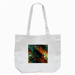 Awesome Fractal 35f Tote Bag (white)