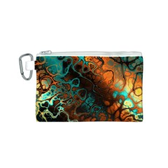 Awesome Fractal 35f Canvas Cosmetic Bag (s)