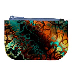 Awesome Fractal 35f Large Coin Purse
