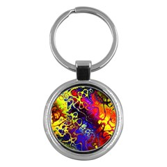 Awesome Fractal 35c Key Chains (round)