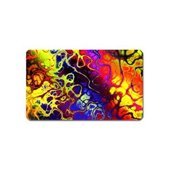 Awesome Fractal 35c Magnet (name Card)