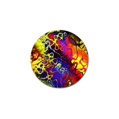 Awesome Fractal 35c Golf Ball Marker