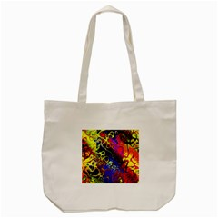 Awesome Fractal 35c Tote Bag (cream)