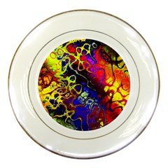 Awesome Fractal 35c Porcelain Plates