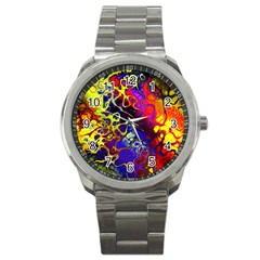 Awesome Fractal 35c Sport Metal Watch
