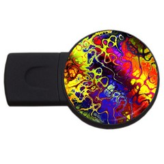 Awesome Fractal 35c Usb Flash Drive Round (4 Gb)