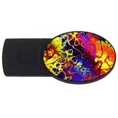Awesome Fractal 35c Usb Flash Drive Oval (4 Gb)