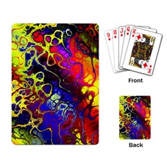 Awesome Fractal 35c Playing Card