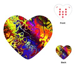 Awesome Fractal 35c Playing Cards (heart)
