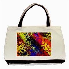 Awesome Fractal 35c Basic Tote Bag (two Sides)