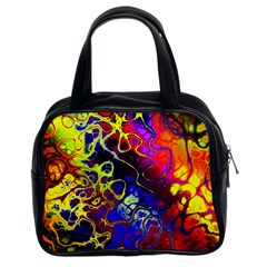 Awesome Fractal 35c Classic Handbags (2 Sides)
