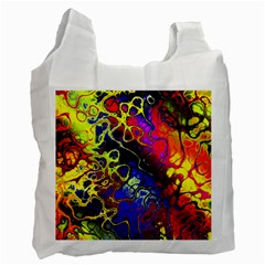 Awesome Fractal 35c Recycle Bag (one Side)
