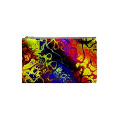 Awesome Fractal 35c Cosmetic Bag (small)