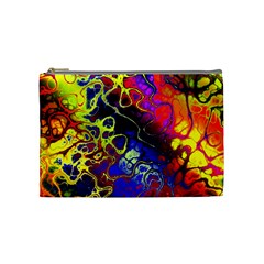 Awesome Fractal 35c Cosmetic Bag (medium)