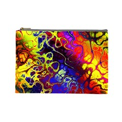 Awesome Fractal 35c Cosmetic Bag (large)