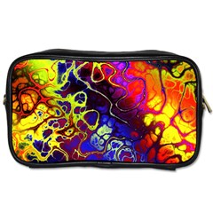 Awesome Fractal 35c Toiletries Bags 2 Side
