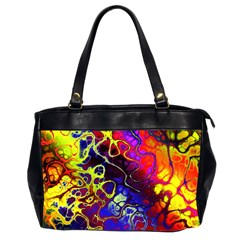 Awesome Fractal 35c Office Handbags (2 Sides)