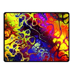 Awesome Fractal 35c Fleece Blanket (small)